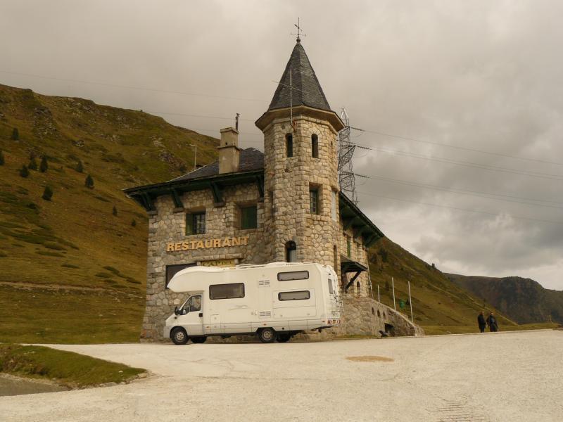 weg c-28 Spanje Pyreneeen