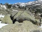 0154 Boven op de berg bij Renclusa
